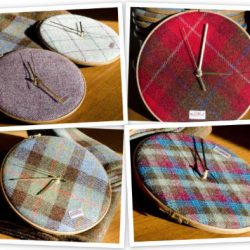 The Harris Tweed Clock Co