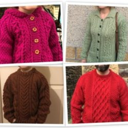 Scottish Knitwear for Kids and Grown Ups
